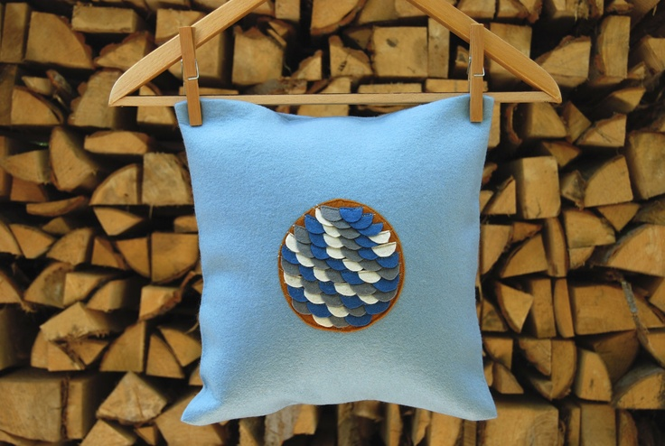 Limited Edition Fishscale Pillow