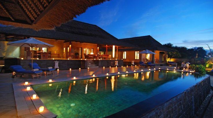 Villa Puri Balangan Pool View Night