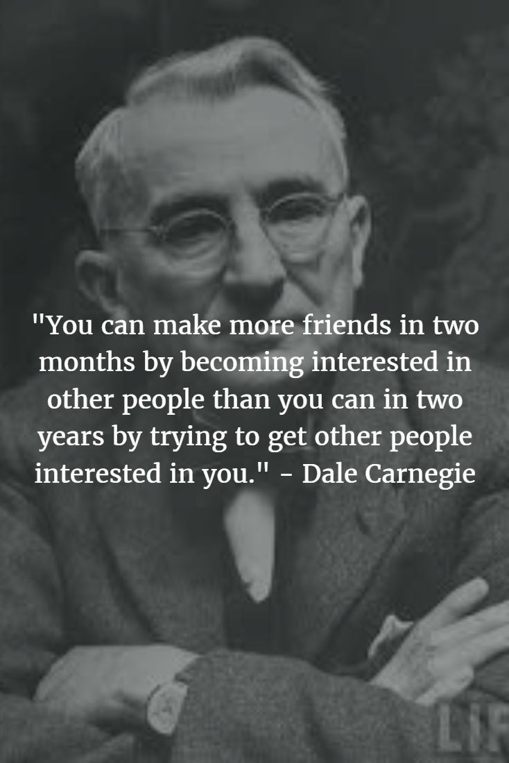 """""""You can make more friends in two months by becoming interested in other people than you can in two years by trying to get other people interested in you."""" - Dale Carnegie #dalecarnegie #motivationalquotes #motivation #inspirationalquotes #inspire #entrepreneurship #entrepreneur #startup #startuplife #entrepreneurlife  #entrepreneursofinstagram #selfimprovement #pirateship #pirate #pirates #pirateprofile #success #successquotes #successful #happy #happiness #lifequotes"""