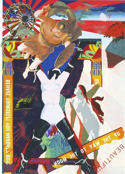Tadanori Yokoo: DRAGON VESSEL-II