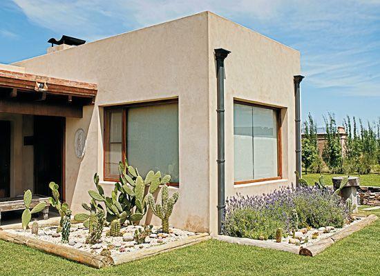 Estilo r stico esp ritu campestre mi casa casas con for Casas mi estilo