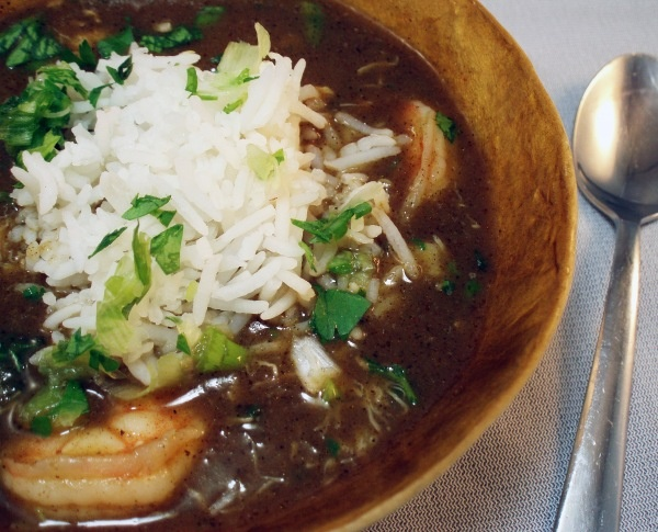"""""""First you make a roux."""" Gumbo, New Orleans."""