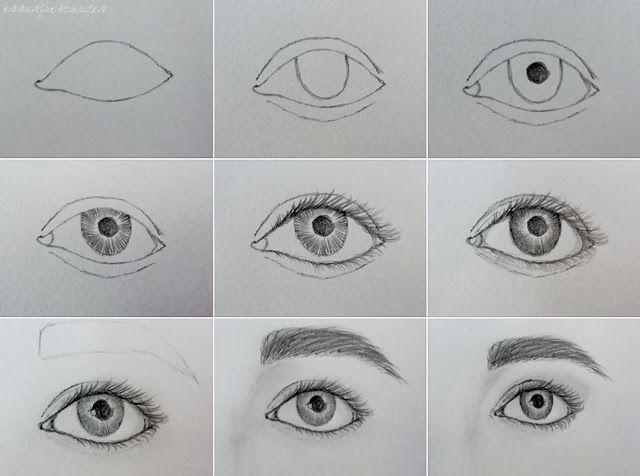 Essas Frescurites : Lápis e Papel: Como desenhar rosto - olhos, boca, nariz, alinhamento