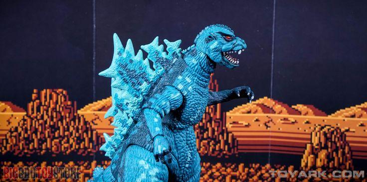 NECA 8-Bit Godzilla Video Game Appearance Figure - Toyark Photo Shoot - The Toyark - News