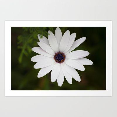dressed in white Art Print by Oscar Tello Muñoz - $19.00
