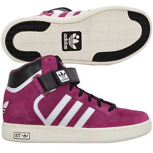 Adidas High Tops for Girls | Adidas Originals ST Girls Junior Kids Suede High Top Shoes Trainers ...