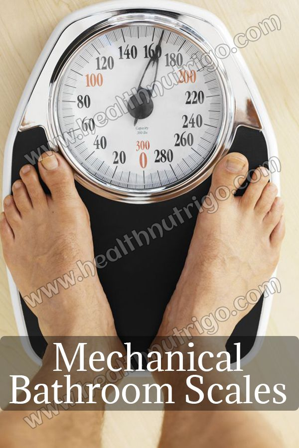 The Best Mechanical Bathroom Scales With Larger Legible Dials And