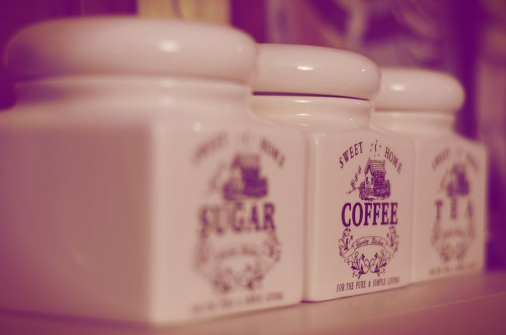 Sugar, Coffee, Tea