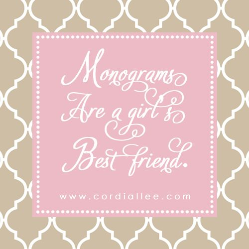 17 Best Images About Monogram Quotes Amp Sayings On
