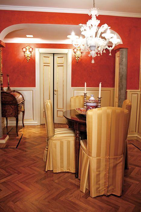 Oltre 25 fantastiche idee su pareti rosse su pinterest for 8 piani di casa di camera da letto