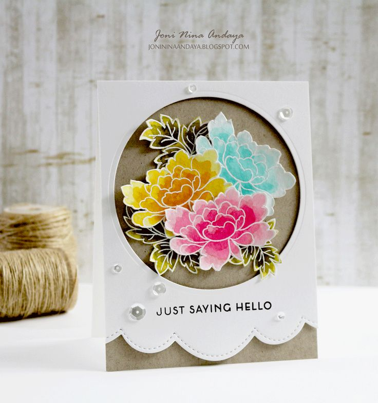 wedding thank you cards time limit%0A This is a bundle of Peony Scrolls stamp set and coordinating die set  This  set features our unique Japanese Peonies with solid outlines