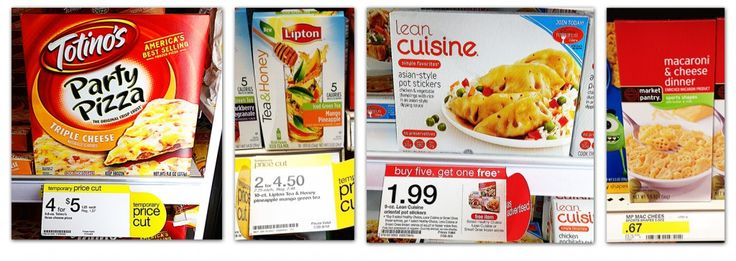 Over 20 Target Grocery Deals --- Cheap Totino's Party Pizzas, Lean Cuisine and More!