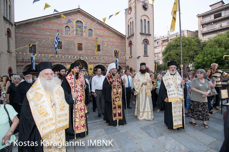 Πανηγύρισε ο Ιερός Ναός Αγίου Αντωνίου Πολιούχου Βεροίας