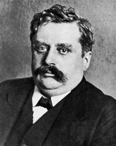 "Alfred Werner (1866-1919), Swiss chemist. ""[for] his work on the linkage of atoms in molecules [...] especially in inorganic chemistry"""
