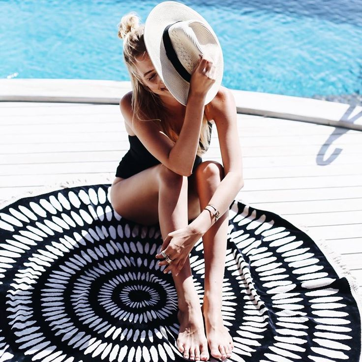 The ultimate travel companion..shop the Tulum Roundie for your next seaside escape at thebeachpeople.com.au/shop/the-tulum/ via @ohhcouture
