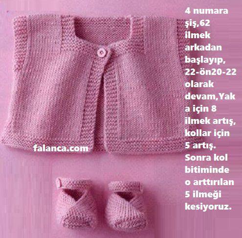 Değişik Ve Açıklamalı Yeni Bebek Örgüleri 15