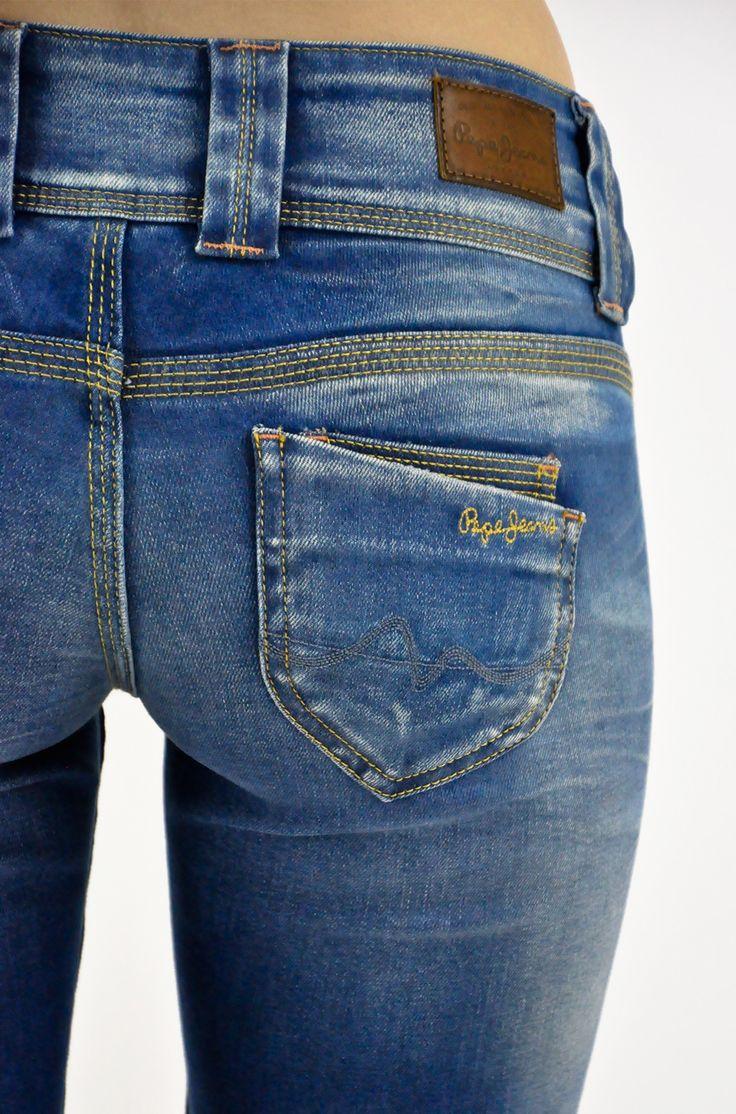 Spodnie jeansowe damskie Pepe Jeans model Venus S23