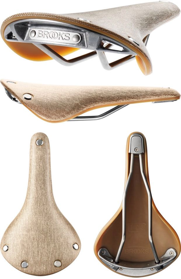 To go with the cobalt blue... Brooks Cambium C17 saddle