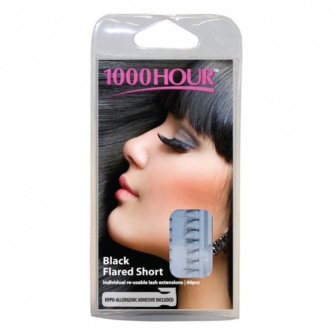 The 1000 Hour range of eyelashes are the perfect addition to any woman's cosmetic regime. Intensify and add depth to your eyes withthese high drama, professional - quality lashes.