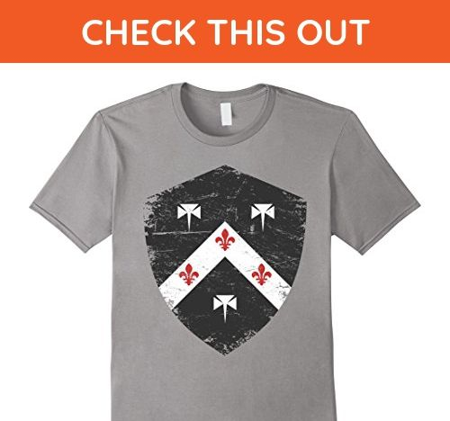 Mens Smith Family Crest Coat of Arms Distressed T-Shirt Small Slate - Relatives and family shirts (*Amazon Partner-Link)