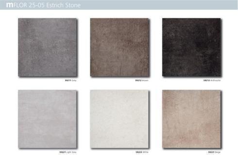 Pvc vloer mFLOR 25-05 serie Estrich Stone
