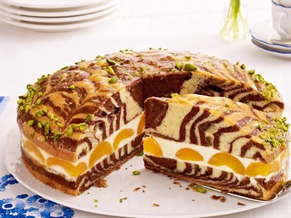 Zebra torta barackkal és citromkrémmel - Lépésről lépésre | Nőivilág.hu