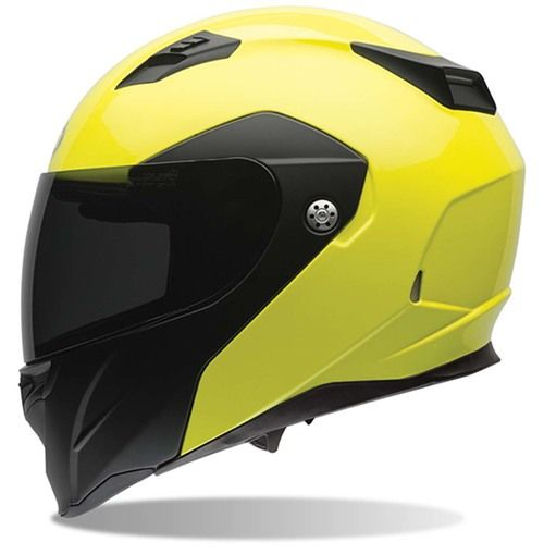 Best-selling Bell Revolver Evo Optimus Hi-Vis Helmet combines polycarbonate durability with ventilation comfort. Xtremehelmets offers FREE shipping. Order now!