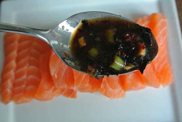 WITH LOVE FROM JAPAN: Sashimi met zeewier-azijndressing | SimKookt