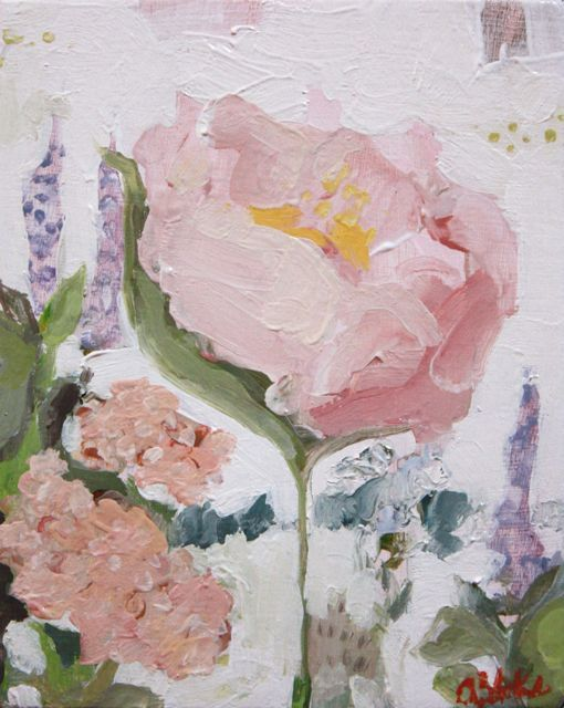 floral no. 1 by amanda blake art, via Flickr