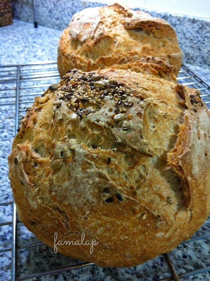 Cocina Fácil Sin Gluten: Pan rápido en pírex o bolsa con BROT Dunkel de schar