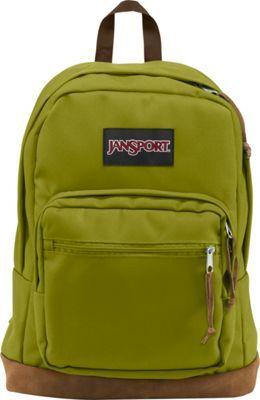 JanSport Right Pack Laptop Backpack Forest Moss - via eBags.com!