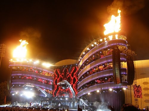 A Bigger Bang Tour - 2005 Soldier Field, Chicago. The ticket price had more than doubled since '97 - worth every penny!