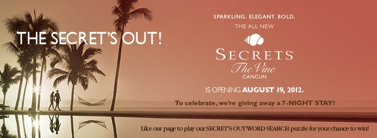 The Secret's Out!: Vine and Wine in Cancun