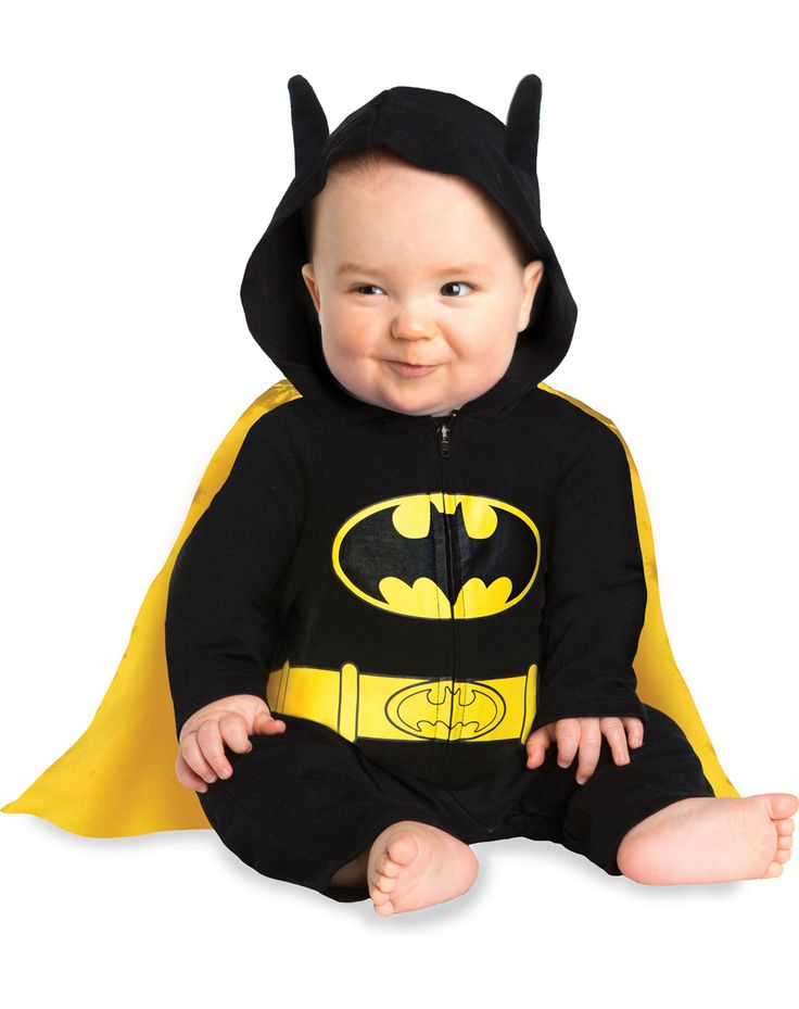 Batman Caped Coverall Baby Costume Exclusively Spirit