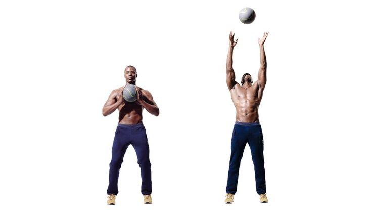 Entrena tu core con el balón medicinal