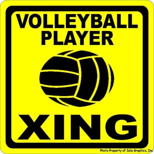 Volleyball Player Xing Sign