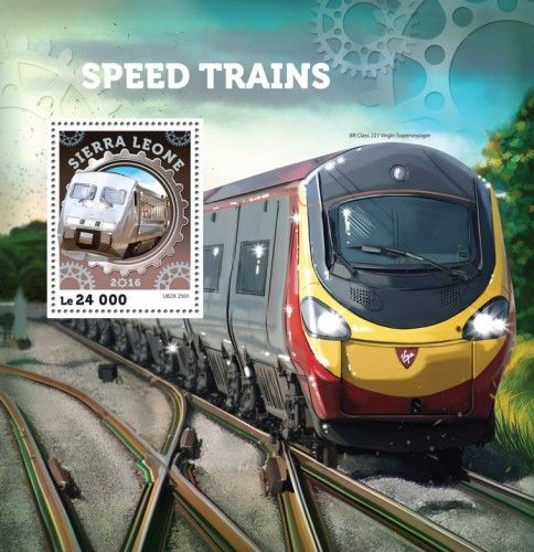SRL16404b Speed trains (UB2X 2501)