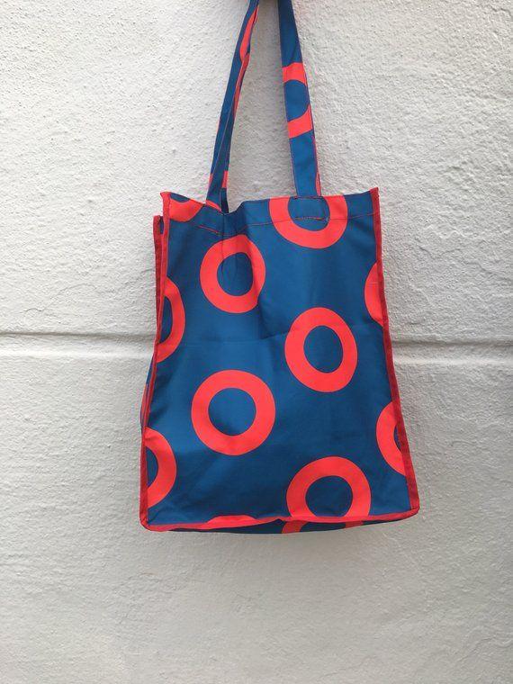 Phish Fishman Donut Tote Bag  Reusable Grocery Bag  You Enjoy My Shirt