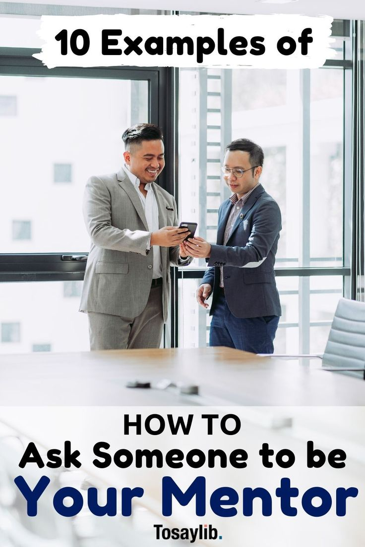 how to ask someone to be your mentor email
