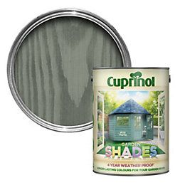 Cuprinol Garden Shades Wild Thyme Wood Paint 2.5L | Departments | DIY at B&Q