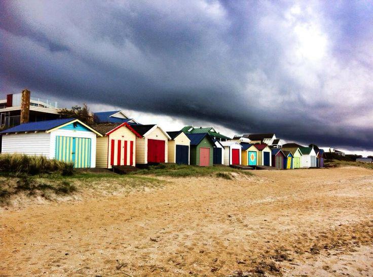 Beach sheds