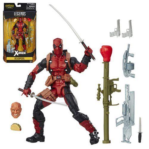 X-Men Marvel Legends 6-Inch Deadpool Action Figure, Pre- Order Now, Coming Jan-2017* NIB * !!!!