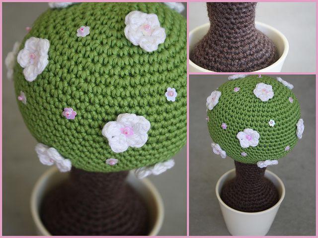 #amigurumi #crochet tree!