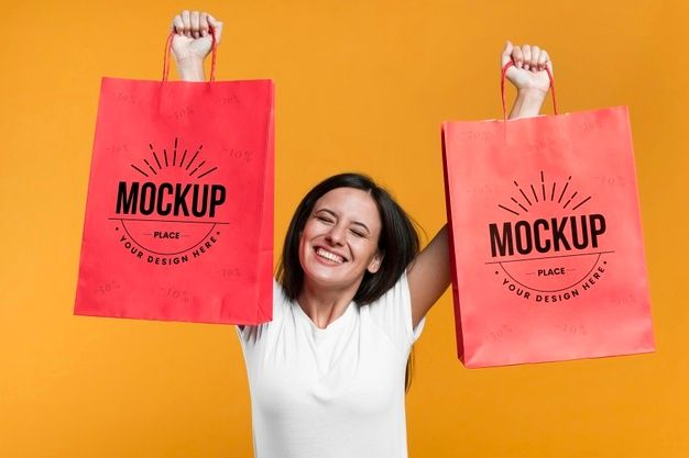 Download Pin By Esraa Sh On Mockup In 2021 Mocking Free Psd Paper Shopping Bag