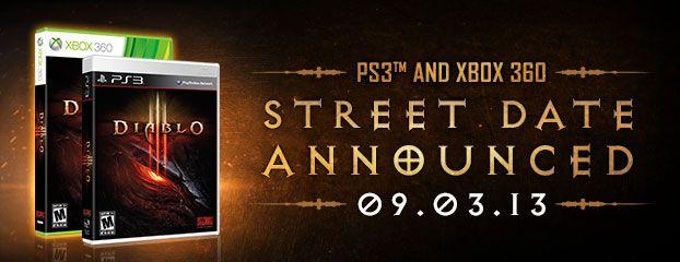 Diablo III – Coming September 3 to Xbox 360 & PS3