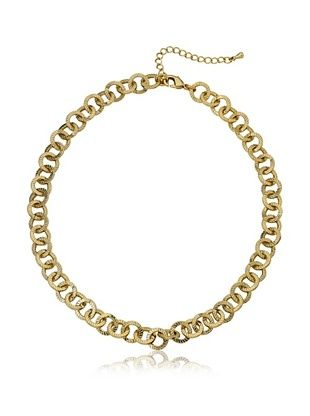 Little Miss Twin Stars Open Link Chain Necklace