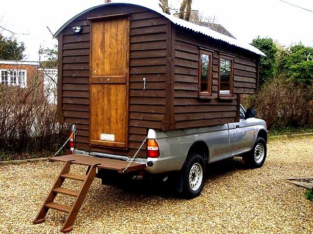 The Flying Tortoise: Handmade Matt And His Wonderful, Easy To Construct Demountable Truck Camper...