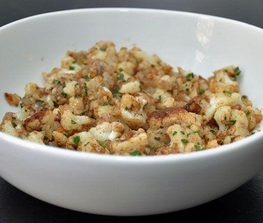 James Beard: brown butter cauliflower