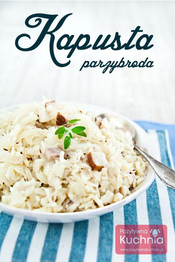 #Kapusta parzybroda - #przepis na dodatek do #obiad.u  http://pozytywnakuchnia.pl/kapusta-parzybroda/  #kuchnia