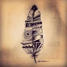 die 25 besten ideen zu indianer feder tattoos auf pinterest einheimische federtattoos. Black Bedroom Furniture Sets. Home Design Ideas